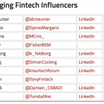 Top Fintech Influencers All Financial Executives Should Follow