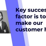 Key #success factor is to make your #customers happy at #money2020